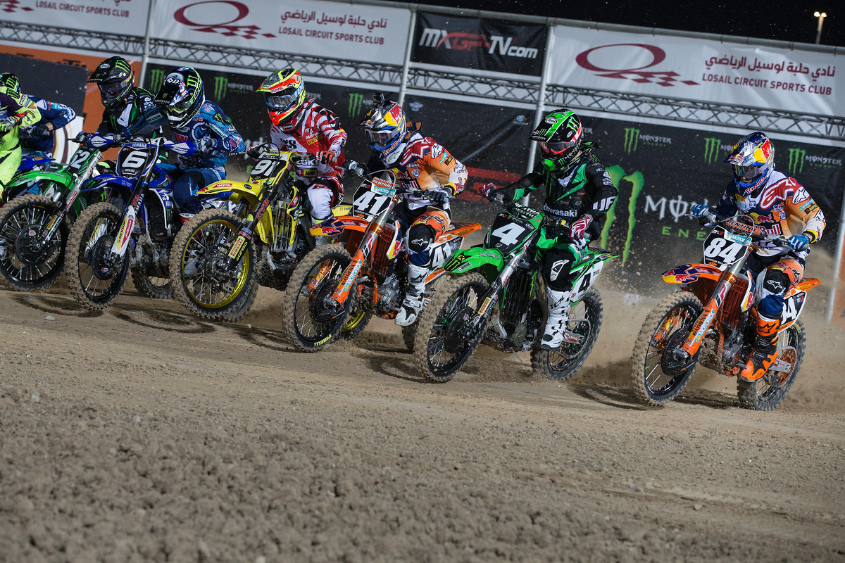 Start der MX2-Klasse