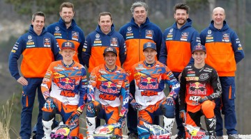 KTM ENDURO Factory Team 2016