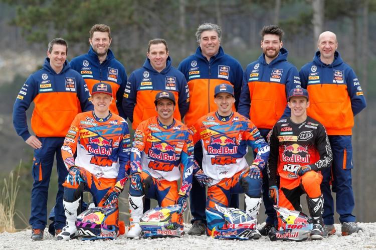 KTM ENDURO Factory Team 2016