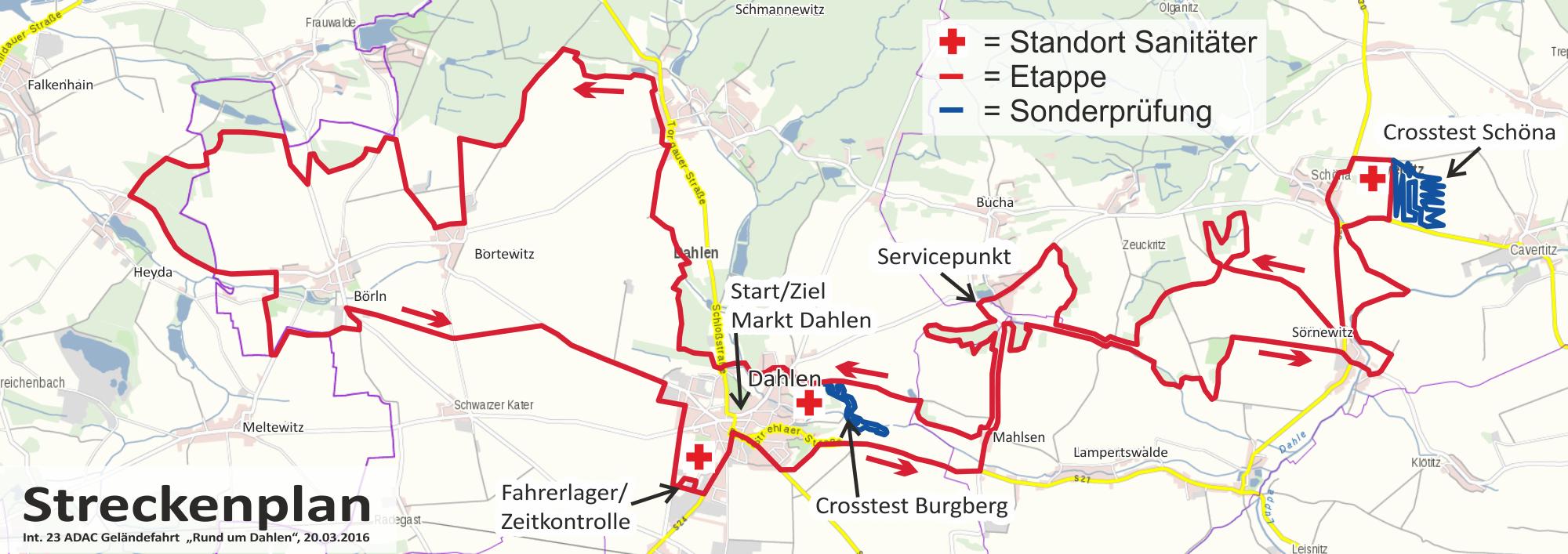 RundumDahlen-Streckenplan