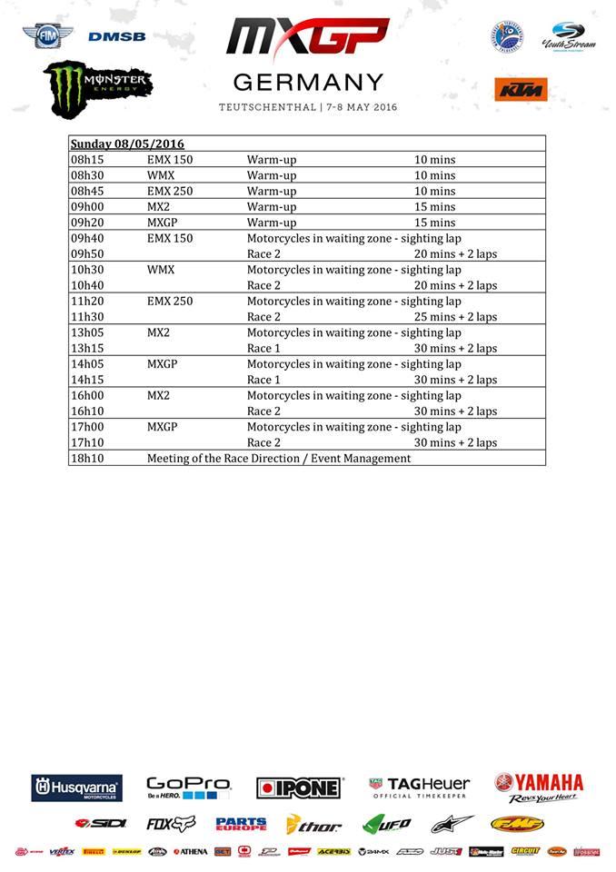 Zeitplan SO