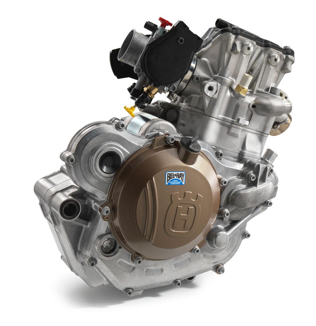 Motor von der Husqvarna FE 501