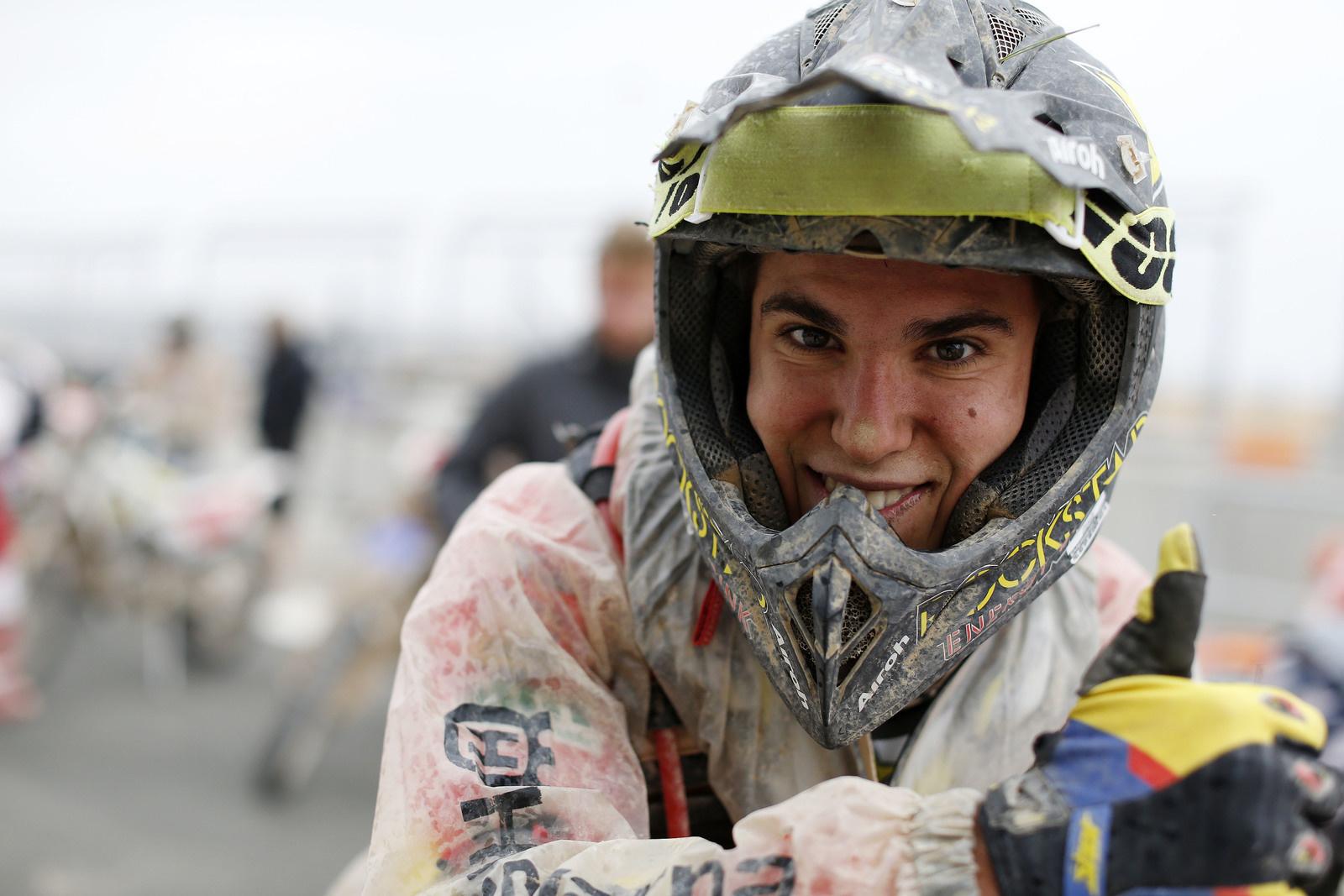 Josep Garcia (ESP) schnellster Junior des gestrigen Tages