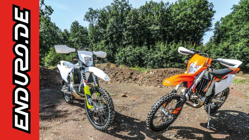 KTM EXC 250 TPI gegen HUSQVARNA TE 250i 2018
