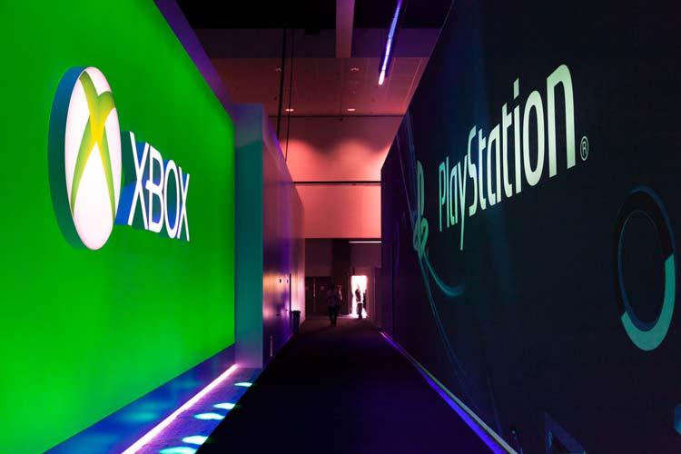 PlayStation und Xbox Schilder