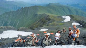 Enduro Paradies Georgien