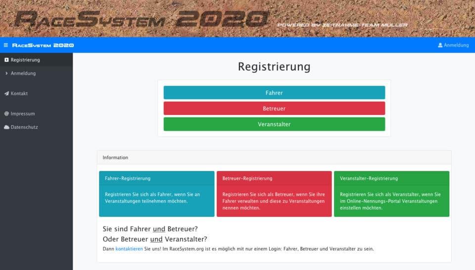 Race-System