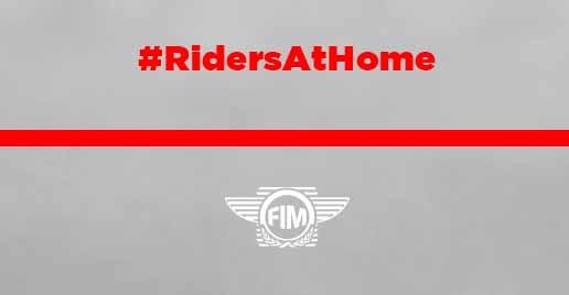 #RidersAtHome