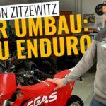 Motocross zur Enduro umbauen