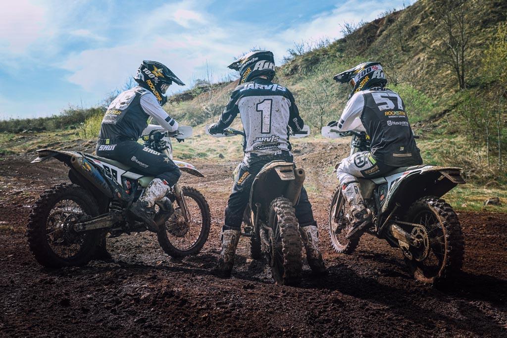 Rockstar Energy Husqvarna Factory Racing - 2021 Enduro Team